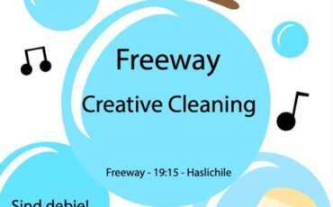 freeway: Creative Cleaning